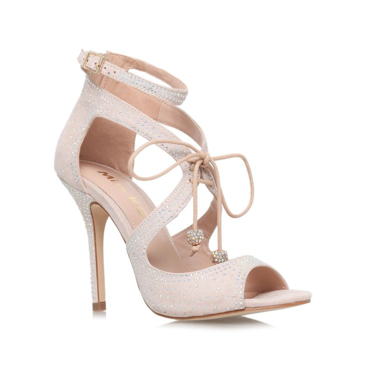 fleur nude high heel sandals from Miss KG