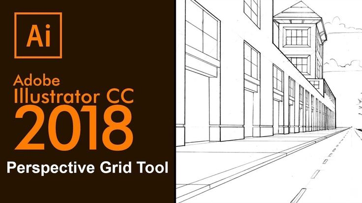 Adobe Illustrator-2018 Perspective Grid Tool - How to use the Perspectiv...