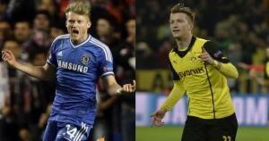 Chelsea fue el campeón de la Champions en el 2012. Tres goles de jugadores alemanes en la primera vuelta. April 08, 2014