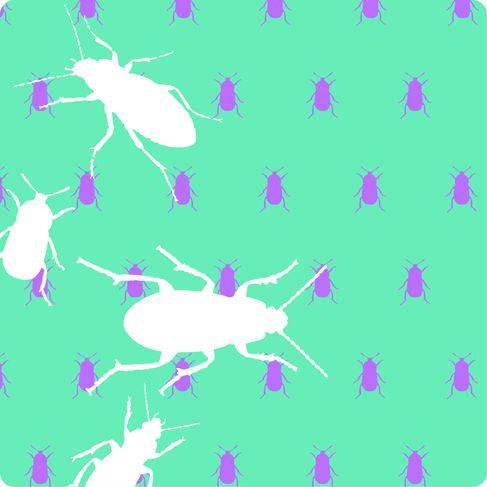 The Beetles #vector #allover print #beetles