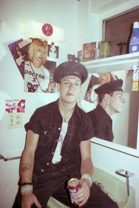 .Mike Ness - 1982 era of Social Distortion.