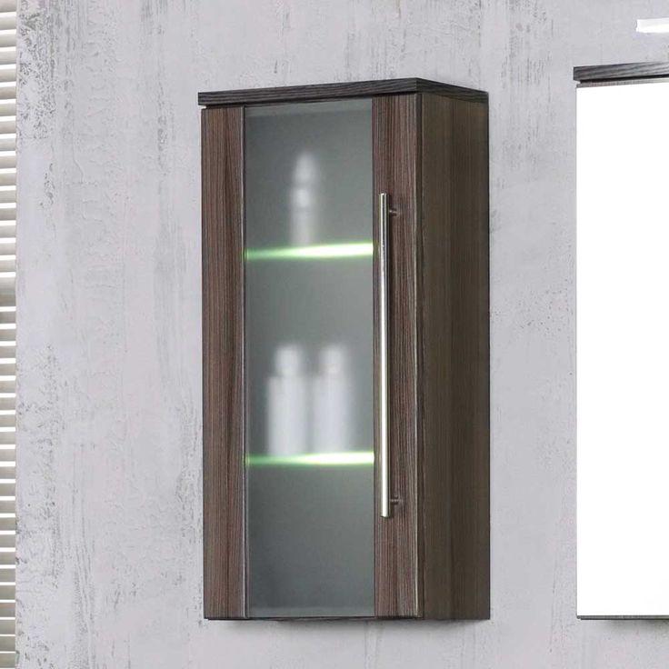 Marvelous Badezimmer H ngeschrank mit Glast r Beleuchtung Jetzt bestellen unter https moebel ladendirekt