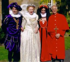 Tudor and Elizabethan Themed Fancy Dress Wedding