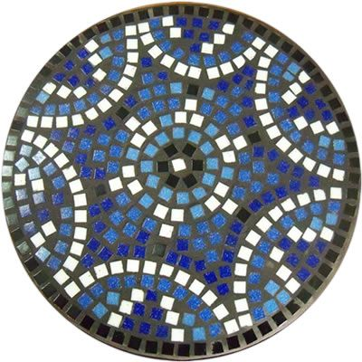 mosaic stepping stones | mosaic cement stepping stone