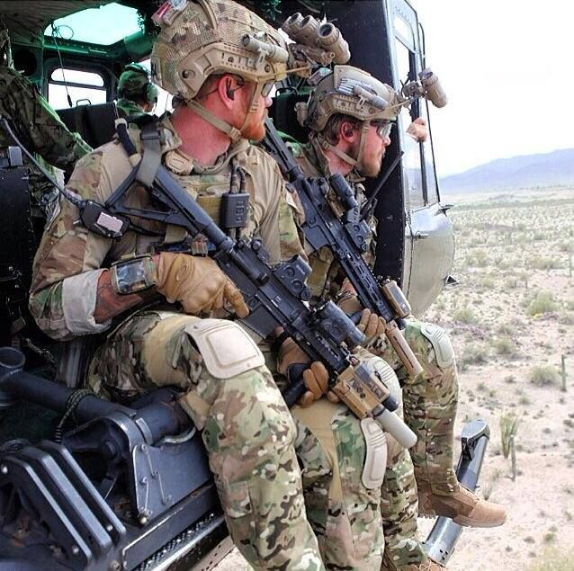 Devgru Gold Squadron Members Sit On The Side Of A
