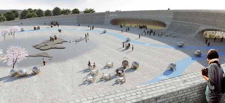 Danimarkalı mimarlık ofisi BIG, Givskud kentinde tasarladığı hayvanat bahçesini yayınladı.
