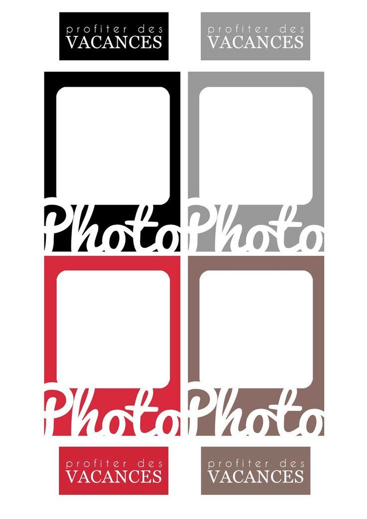 Etiquettes à imprimer - Free printable - Project life