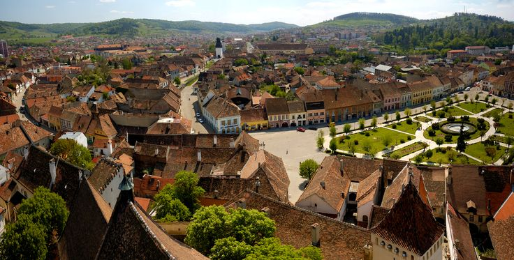Medias, Romania - medieval town in the heart of Transylvania, known for its 33 craft guilds.  Credits flickr.com/cotrop
