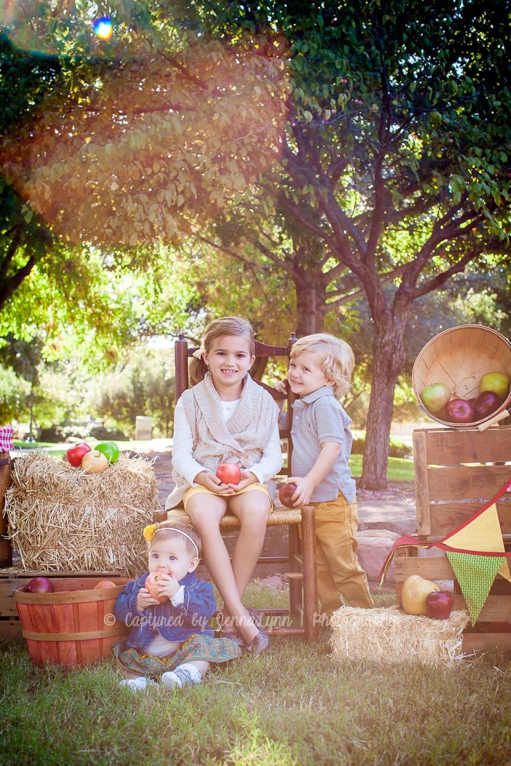 Apple Picking Time Fall Mini S For Children Outdoor Photo