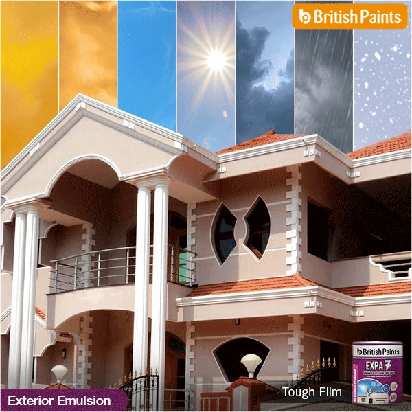 For that #ToughFilm which can withstand the calamities of harsh weather, use Expa 7 by #BritishPaints.
