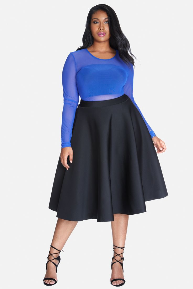 24 best how to wear plus size midi skirts images on