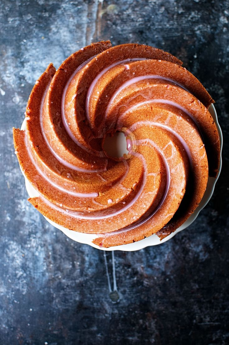 Big Red Soda Vanilla Pound Cake: Twist on the southern classic 7-Up Pound Cake, this Big Red Soda Vanilla Pound Cake has the subtle flavor of cream soda studded with vanilla beans.