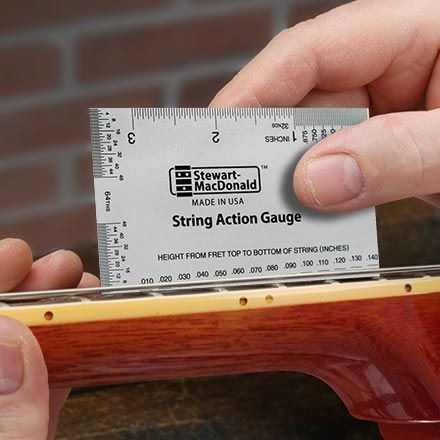 picture regarding String Action Gauge Printable named Ukulele Set up