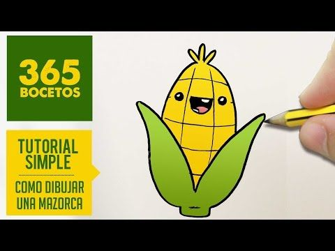 COMO DIBUJAR BROCOLI KAWAII PASO A PASO - Dibujos kawaii faciles - How to draw a BROCCOLI - YouTube