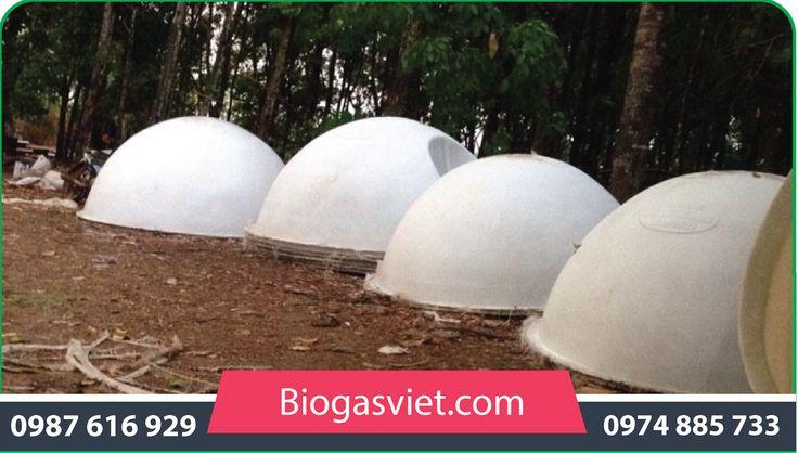 hầm ủ khí biogas cải tiến