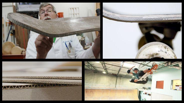 Cardboard Skateboard : featuring Paul Schmitt and Tony Hawk : Cardboard ...