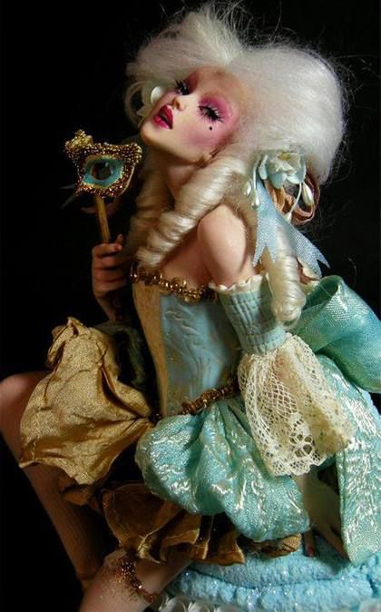 Doll Art...Nicole West, Musetouch,More Pins Like This At FOSTERGINGER @ Pinterest ㊙️㊗️