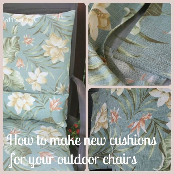 How To Make Cushions For Outdoor Chairs In 5 Easy Steps Part 82