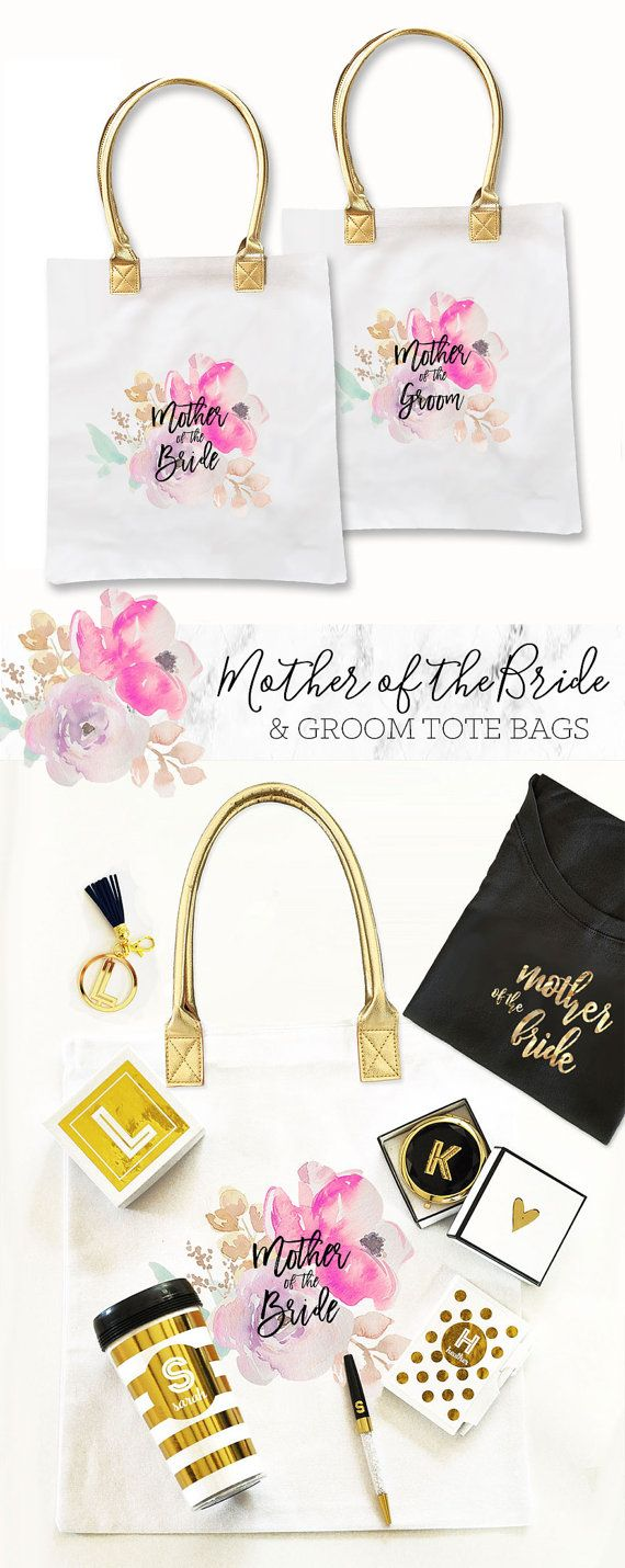 Mother of the Bride Tote Bags Mother of the Groom Tote by ModParty