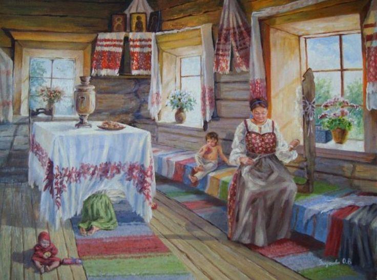 Богданова Оксана. Русская изба