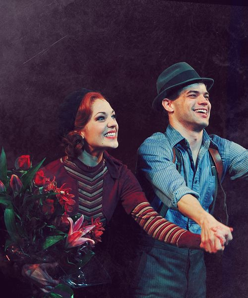 Bonnie and Clyde, Laura Osnes and Jeremy Jordan!