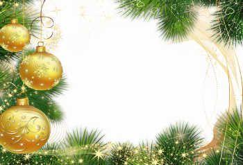 Бесплатные открытки и рамки на Новый Год с вашим фото