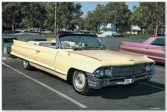 1962 Cadillac Series 62 convertible - yellow - fvr | Zoom ...