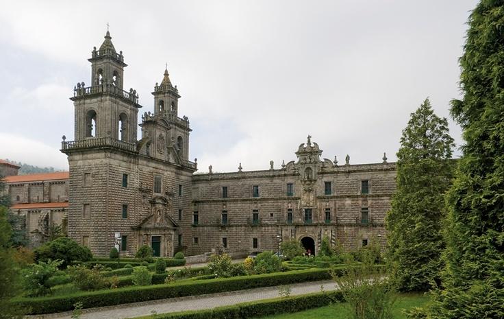 Monasterio de Oseira. San Cristovo de Cea.