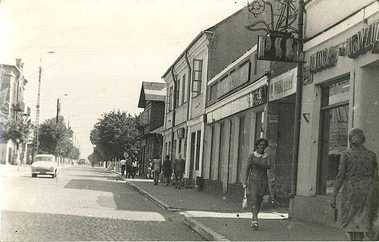 Biała Podlaska, ul. Brzeska, 1965 - 1975 r.