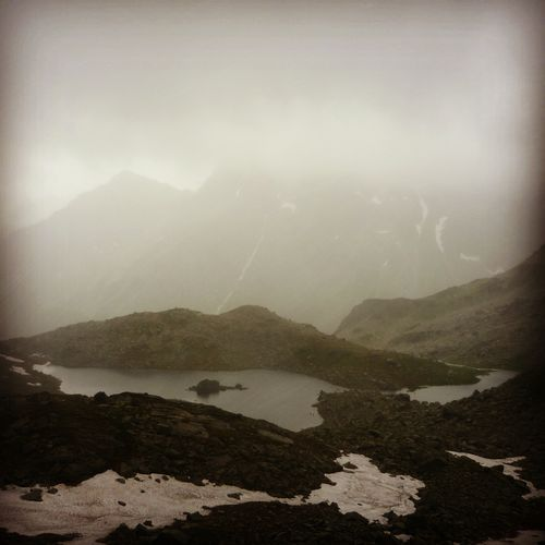 Hiking in the Tatras - Rysy peak 2499m