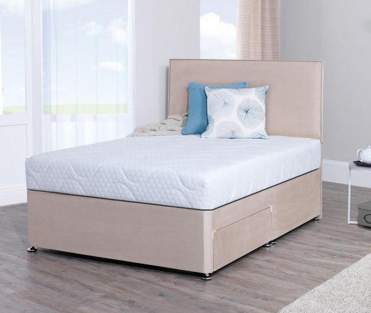 Lifestyle 5ft King Size Memory Foam Divan Bed