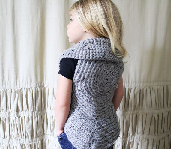 Instant Download PATTERN The Tonie Sweater by NaturallyNoraCrochet