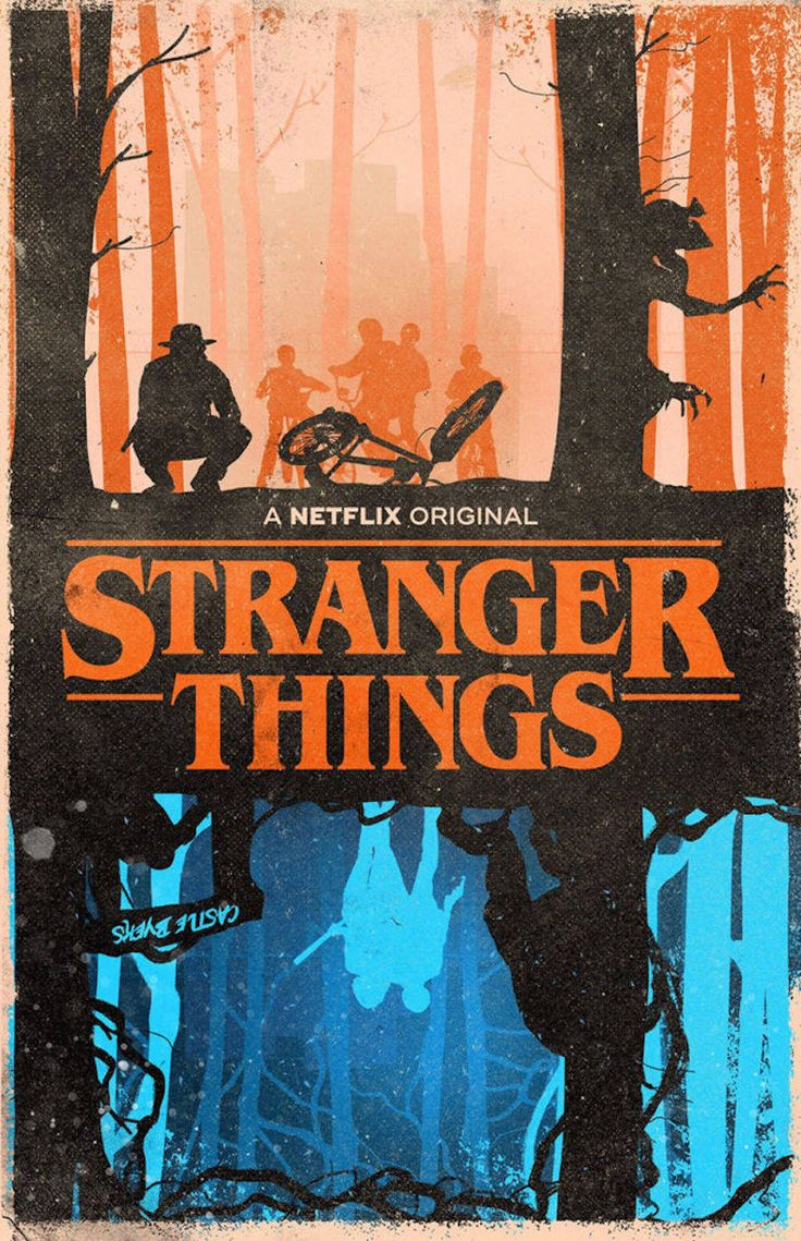 Design poster the best - Superb Fan Art Posters Of Stranger Things