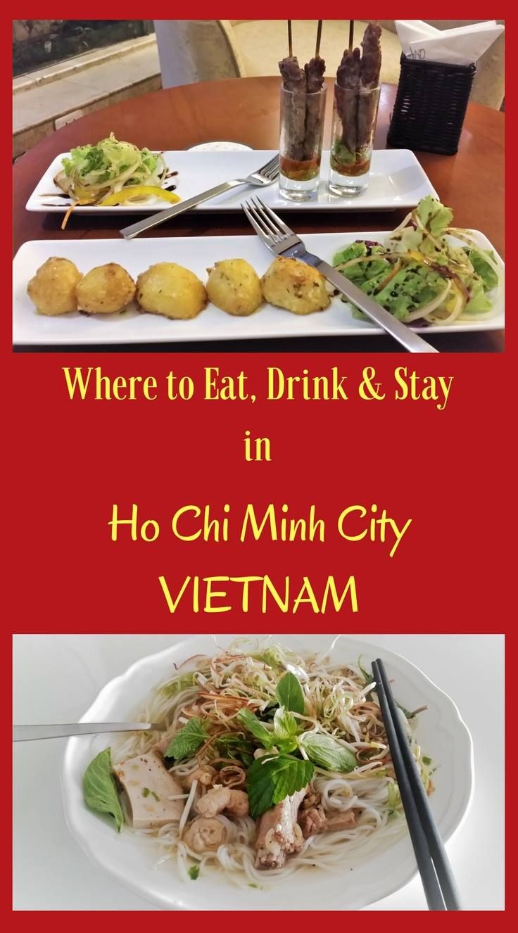 Ho Chi Minh City food and drink. Where to stay in Saigon. Where to eat in Ho Chi Minh City. Where to drink in Ho Chi Minh City. #saigon #hochiminhcity #food