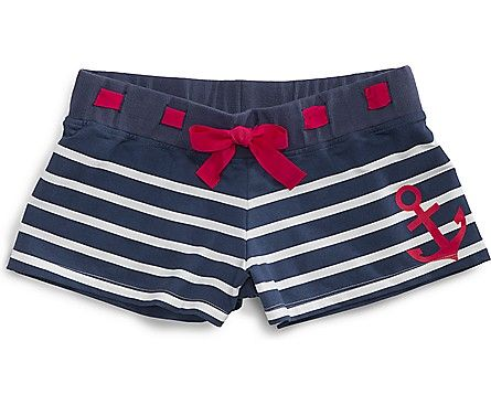 Sperry Top-Sider Stripe Anchor Shorts