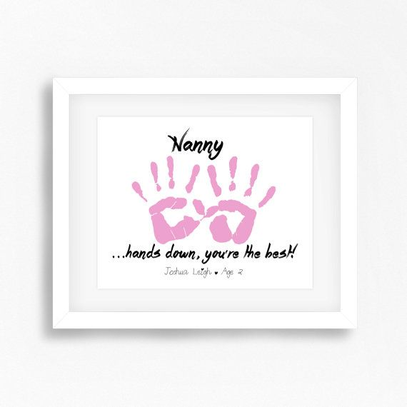 Mothers day gift for nanny personalised grandmother gift for Birthday gifts for grandma from granddaughter