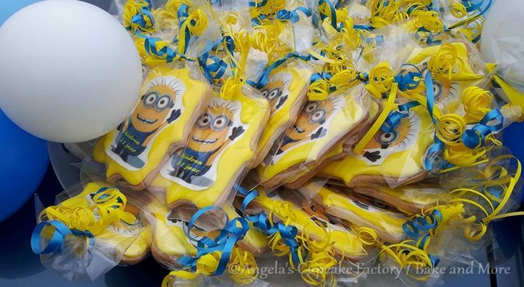 Minion koekjes, minion cookies