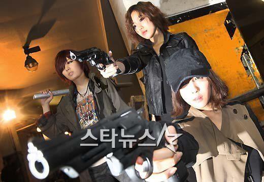 Qri, Eunjung & Hyomin <3