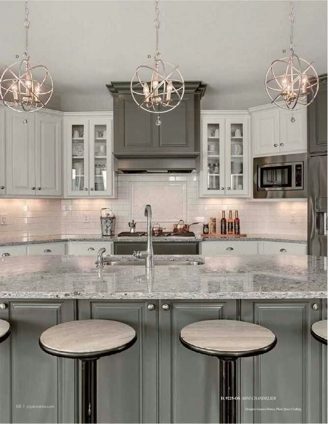 Lighting Beautiful Kitchen Lighting Pinterest Kitchens Shaker - Beautiful gray kitchens