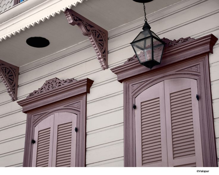 Close your shutters with style.