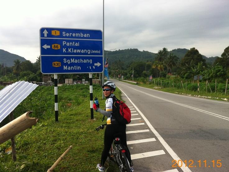 Leisure ride to Broga