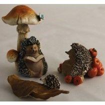 Chloe's Garden 3 Assorted Hedgehog's