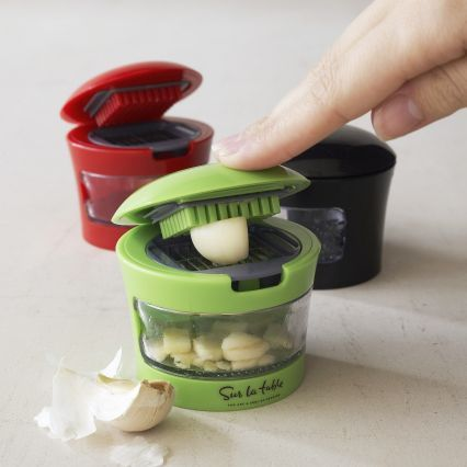 Slice and dice garlic press - this is awesome