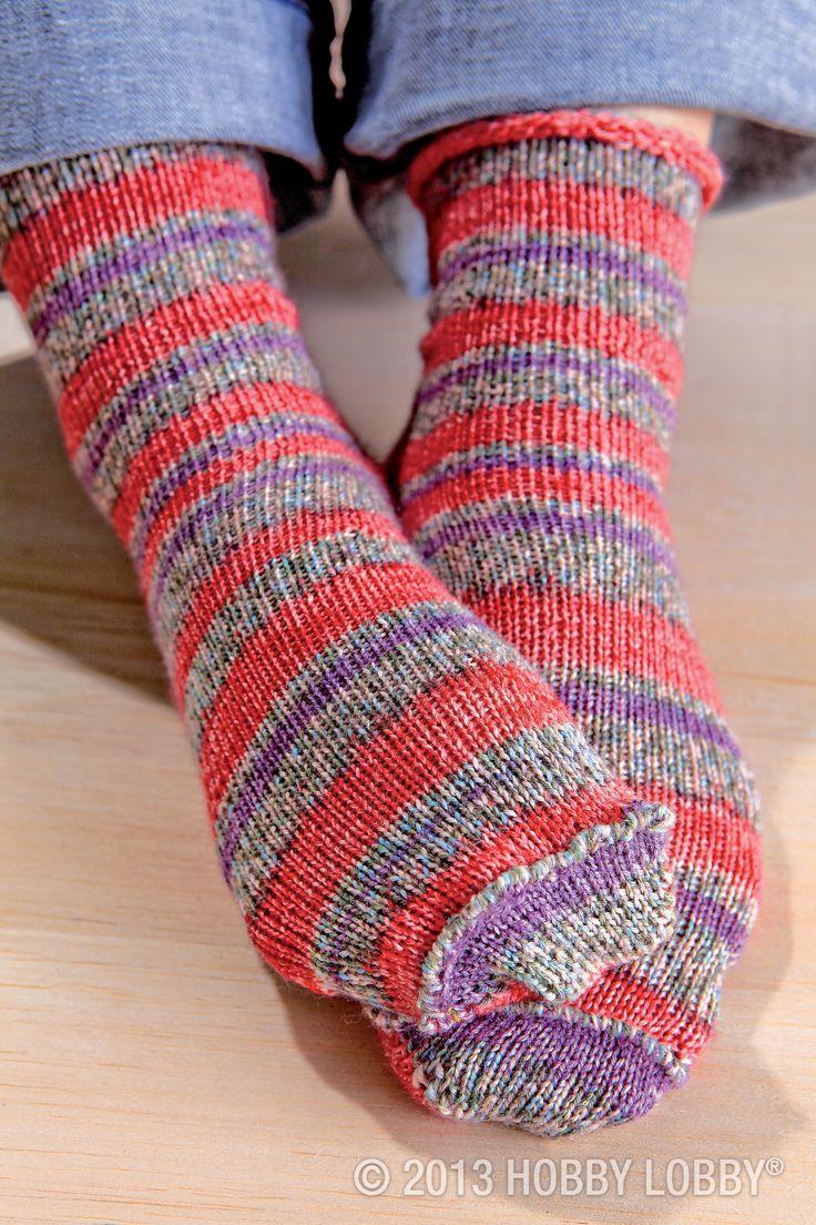 106 best Loom Knitting - Socks images on Pinterest | Knit socks ...