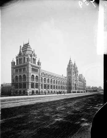 Natural History Museum, Cromwell Road, c 1890