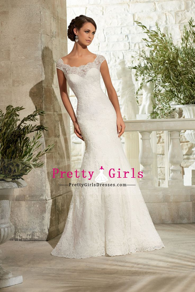 2015 Wedding Apparel Mermaid/Trumpet Sleeveless Court Train Tulle With Applique