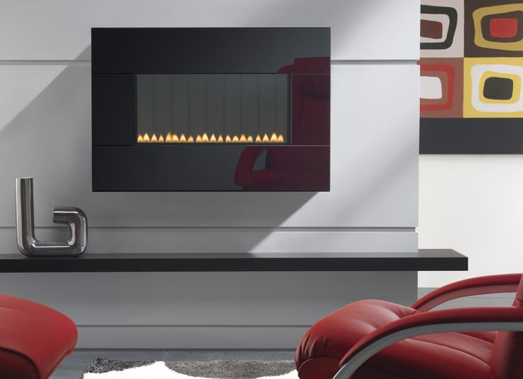Merrion Wall-Mounted Flueless Gas Fire