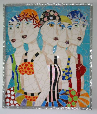 Deep End, Chora Leone Gallery | Somers Point, NJ, mosaic