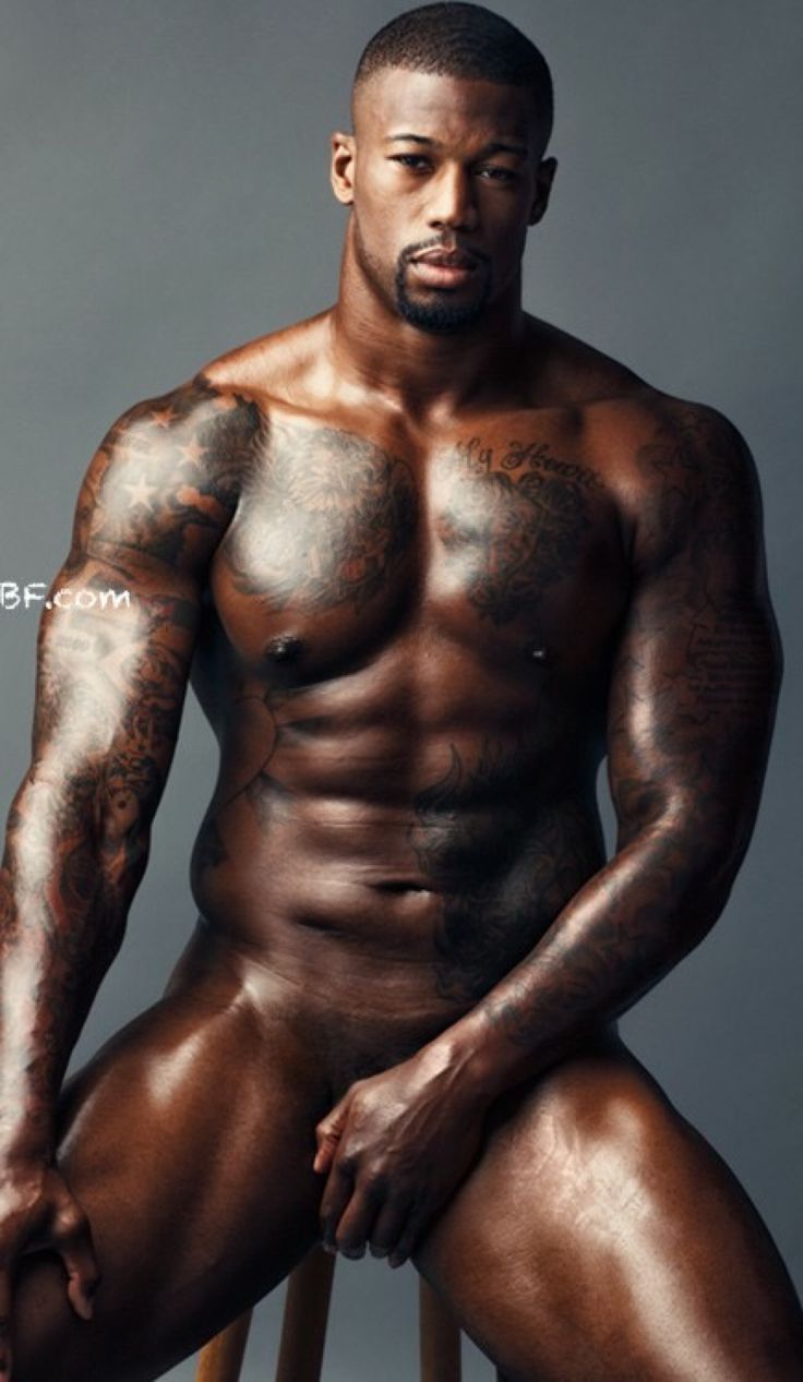Pic of black male athletes nude