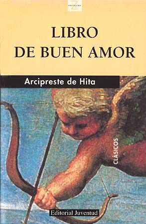 """Portada del """"Libro de Buen Amor"""" de Juan Ruiz, Arcipreste de Hita.  -Laura Valderrama."""